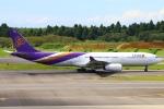 Kuuさんが、成田国際空港で撮影したタイ国際航空 A330-343Xの航空フォト(飛行機 写真・画像)