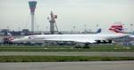 X-Airlinesさんが、ロンドン・ヒースロー空港で撮影したブリティッシュ・エアウェイズ Concorde 102の航空フォト(写真)