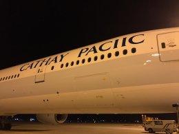 X-Airlinesさんが、香港国際空港で撮影したキャセイパシフィック航空 777-367/ERの航空フォト(写真)