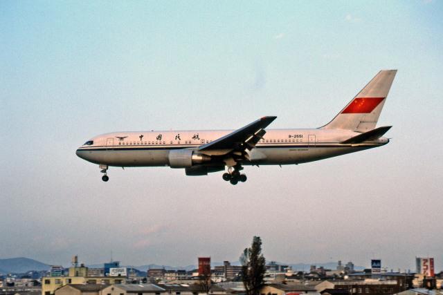 中国民用航空局 Boeing 767-200 ...