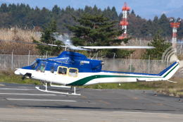 Daisuke_aizさんが、花巻空港で撮影した北海道防災航空隊 412の航空フォト(飛行機 写真・画像)