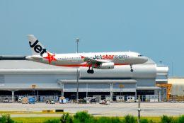 まいけるさんが、スワンナプーム国際空港で撮影したジェットスター A320-232の航空フォト(飛行機 写真・画像)