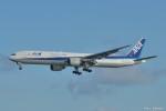 やまちゃんKさんが、那覇空港で撮影した全日空 777-381の航空フォト(写真)