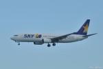 やまちゃんKさんが、那覇空港で撮影したスカイマーク 737-8HXの航空フォト(写真)