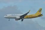 やまちゃんKさんが、那覇空港で撮影したバニラエア A320-214の航空フォト(写真)
