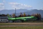 daisuke.aさんが、花巻空港で撮影したフジドリームエアラインズ ERJ-170-200 (ERJ-175STD)の航空フォト(写真)