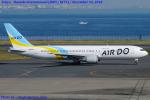 Chofu Spotter Ariaさんが、羽田空港で撮影したAIR DO 767-33A/ERの航空フォト(飛行機 写真・画像)