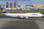 Chofu Spotter Ariaさんが、羽田空港で撮影したルフトハンザドイツ航空 747-830の航空フォト(飛行機 写真・画像)