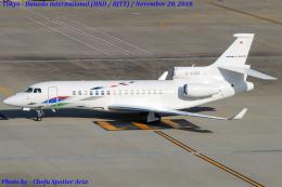Chofu Spotter Ariaさんが、羽田空港で撮影したVW Air Services Falcon 8Xの航空フォト(飛行機 写真・画像)