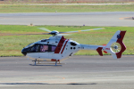 yabyanさんが、名古屋飛行場で撮影した中日本航空 EC135P2の航空フォト(飛行機 写真・画像)