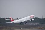 金魚さんが、成田国際空港で撮影したスイスインターナショナルエアラインズ A340-313Xの航空フォト(写真)