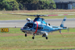 yabyanさんが、名古屋飛行場で撮影した静岡県警察 A109E Powerの航空フォト(写真)