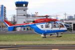まぃあんこさんが、東京ヘリポートで撮影した川崎市消防航空隊 BK117C-2の航空フォト(写真)