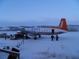 BOSTONさんが、オールドクロウ空港で撮影したエア・ノース HS.748の航空フォト(飛行機 写真・画像)