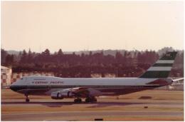 JA8037さんが、成田国際空港で撮影したキャセイパシフィック航空 747-267Bの航空フォト(写真)