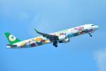 mojioさんが、那覇空港で撮影したエバー航空 A321-211の航空フォト(写真)