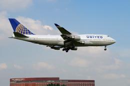 szkkjさんが、成田国際空港で撮影したユナイテッド航空 747-422の航空フォト(飛行機 写真・画像)