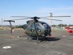 sp3混成軌道さんが、岡南飛行場で撮影した陸上自衛隊 OH-6Dの航空フォト(写真)
