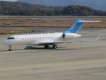 sp3混成軌道さんが、岡山空港で撮影したバミューダ企業所有 BD-700 Global Express/5000/6000の航空フォト(写真)