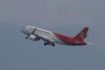 飛行機ゆうちゃんさんが、関西国際空港で撮影した深圳航空 A320-214の航空フォト(写真)