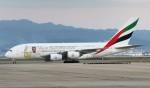 青春の1ページさんが、関西国際空港で撮影したエミレーツ航空 A380-861の航空フォト(写真)