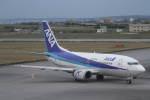 プルシアンブルーさんが、宮古空港で撮影したANAウイングス 737-5L9の航空フォト(写真)