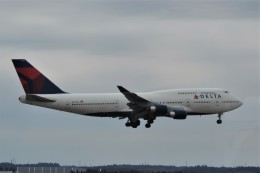 kumagorouさんが、成田国際空港で撮影したデルタ航空 747-451の航空フォト(写真)