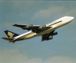 エルさんが、成田国際空港で撮影したシンガポール航空 747-212Bの航空フォト(写真)