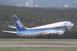 プルシアンブルーさんが、庄内空港で撮影した全日空 737-881の航空フォト(写真)
