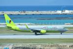 mojioさんが、那覇空港で撮影したジンエアー 737-8SHの航空フォト(飛行機 写真・画像)