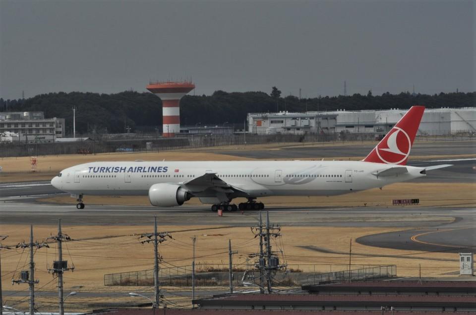 kumagorouさんのターキッシュ・エアラインズ Boeing 777-300 (TC-JJO) 航空フォト