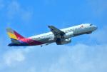 mojioさんが、那覇空港で撮影したアシアナ航空 A320-232の航空フォト(飛行機 写真・画像)