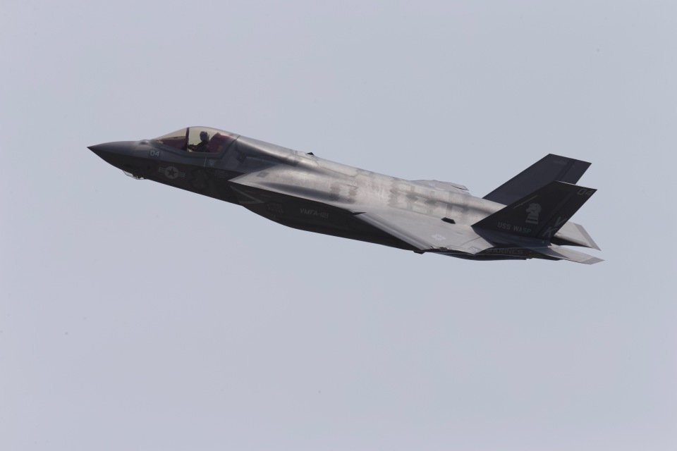yokopen2さんのアメリカ海兵隊 Lockheed Martin F-35 Lightning II (169168) 航空フォト