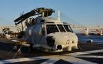 青い翼に鎧武者マークの!さんが、護衛艦いずもで撮影した海上自衛隊 SH-60Jの航空フォト(写真)