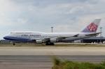 ハピネスさんが、関西国際空港で撮影したチャイナエアライン 747-409の航空フォト(飛行機 写真・画像)