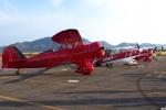 グリスさんが、岡南飛行場で撮影した日本個人所有 YMF-F5Cの航空フォト(写真)