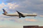 szkkjさんが、成田国際空港で撮影したユナイテッド航空 777-322/ERの航空フォト(写真)