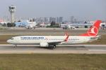 武彩航空公司(むさいえあ)さんが、アタテュルク国際空港で撮影したターキッシュ・エアラインズ 737-9F2/ERの航空フォト(飛行機 写真・画像)