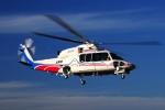 SAMBAR-2463さんが、群馬ヘリポートで撮影した山梨県防災航空隊 S-76Dの航空フォト(写真)