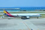 mojioさんが、那覇空港で撮影したアシアナ航空 A330-323Xの航空フォト(飛行機 写真・画像)