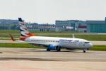 xingyeさんが、ワルシャワ・フレデリック・ショパン空港で撮影したトラベル・サービス・ポーランド 737-8BKの航空フォト(写真)