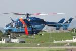 MOR1(新アカウント)さんが、名古屋飛行場で撮影した愛知県警察 BK117C-1の航空フォト(写真)