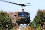 SAMBAR-2463さんが、熊谷スポーツ文化公園で撮影した陸上自衛隊 UH-1Jの航空フォト(写真)