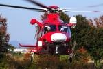 SAMBAR-2463さんが、熊谷スポーツ文化公園で撮影した埼玉県防災航空隊 AW139の航空フォト(写真)