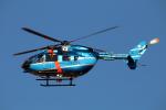 なごやんさんが、名古屋飛行場で撮影した千葉県警察 BK117C-2の航空フォト(写真)