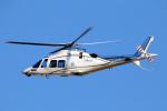 なごやんさんが、名古屋飛行場で撮影した日本デジタル研究所(JDL) AW109SPの航空フォト(写真)