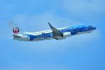 mojioさんが、那覇空港で撮影した日本トランスオーシャン航空 737-8Q3の航空フォト(写真)