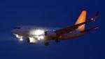 パンダさんが、成田国際空港で撮影したハンワ・ケミカル 737-7HF BBJの航空フォト(写真)