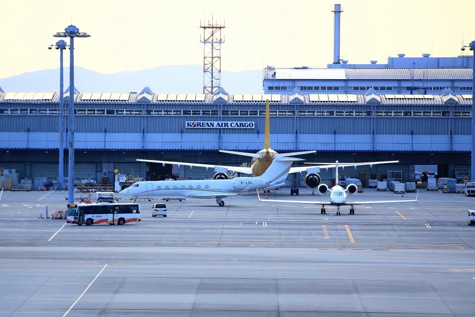 T.Sazenさんの不詳 Gulfstream Aerospace G500/G550 (G-V) (B-LDL) 航空フォト