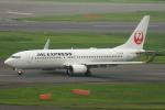 なまくら はげるさんが、羽田空港で撮影したJALエクスプレス 737-846の航空フォト(写真)